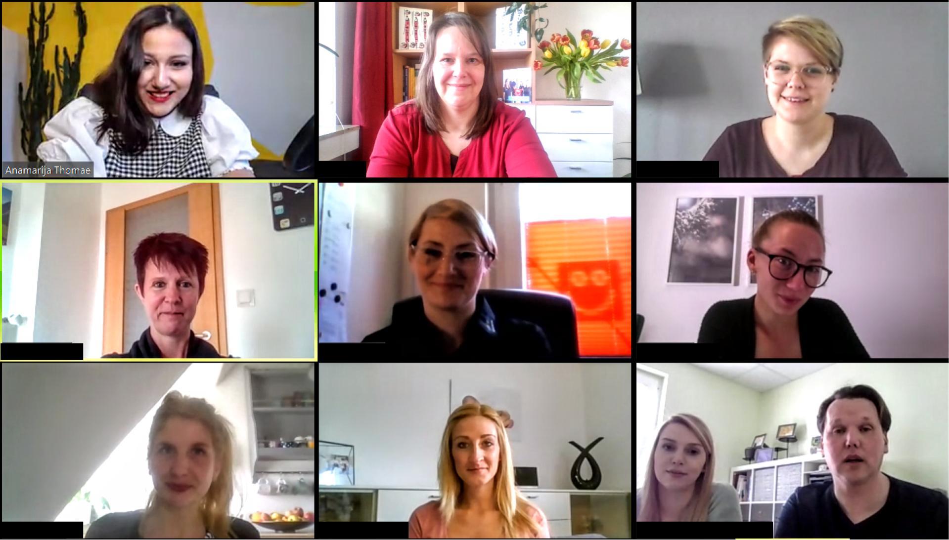 Live-Online-Seminar mit Erziehern von Stepke Kitas